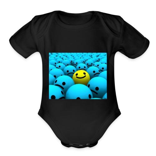 merch stuff - Organic Short Sleeve Baby Bodysuit