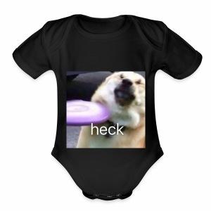 Heck - Short Sleeve Baby Bodysuit