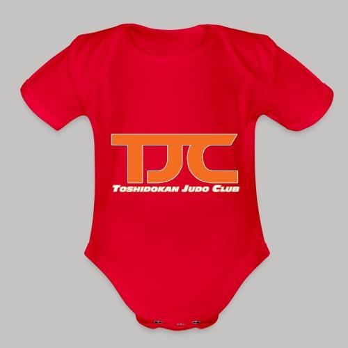 TJCorangeBASIC - Organic Short Sleeve Baby Bodysuit