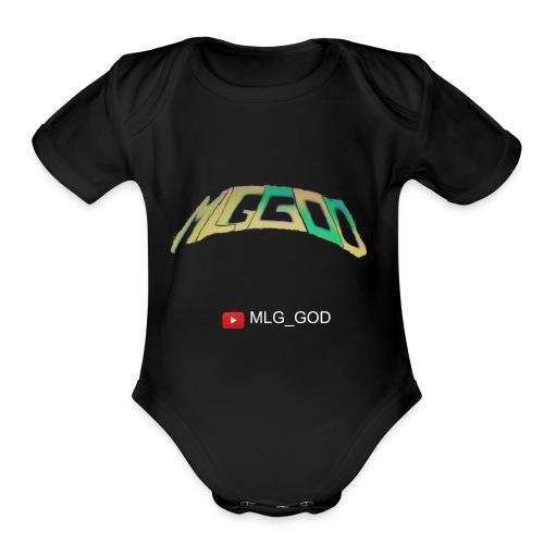 MLG GOD MERCH - Organic Short Sleeve Baby Bodysuit