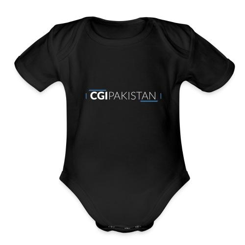 CGI Pakistan's Brand Designs - Organic Short Sleeve Baby Bodysuit