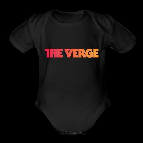 The Vrg - Organic Short Sleeve Baby Bodysuit