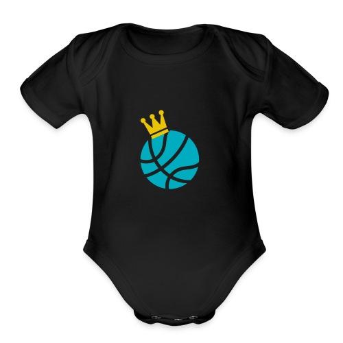 King Xtreme - Organic Short Sleeve Baby Bodysuit
