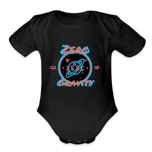 zero gravity 3D logo - Short Sleeve Baby Bodysuit