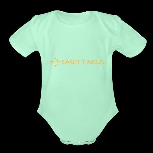 Sagittarius - Organic Short Sleeve Baby Bodysuit