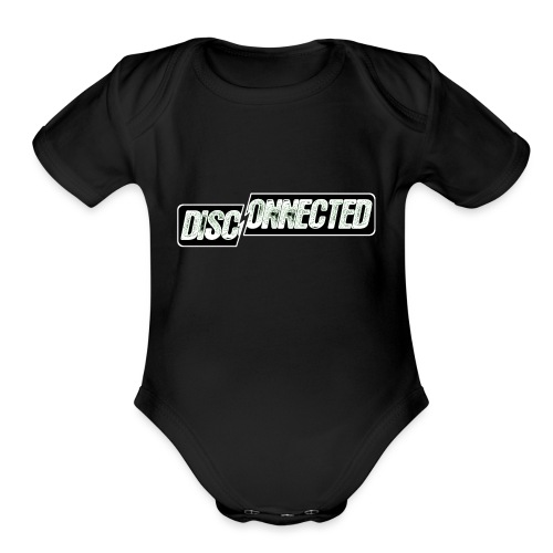 Disconnected - Organic Short Sleeve Baby Bodysuit