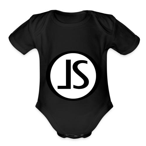 LS Studio - Organic Short Sleeve Baby Bodysuit