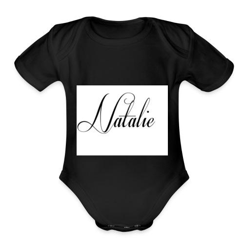 Natalie - Organic Short Sleeve Baby Bodysuit