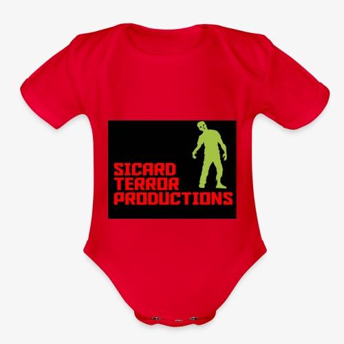 Sicard Terror Productions Merchandise - Organic Short Sleeve Baby Bodysuit
