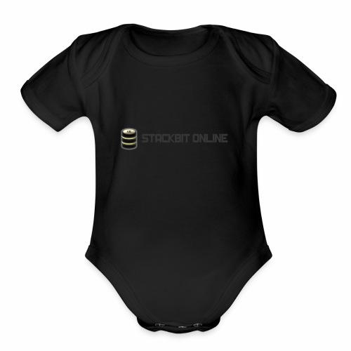 stackbit online - Organic Short Sleeve Baby Bodysuit
