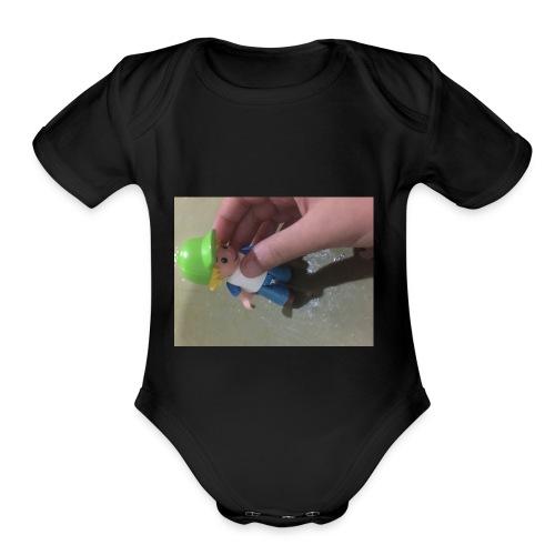 SprayGerf T-Shirt - Organic Short Sleeve Baby Bodysuit