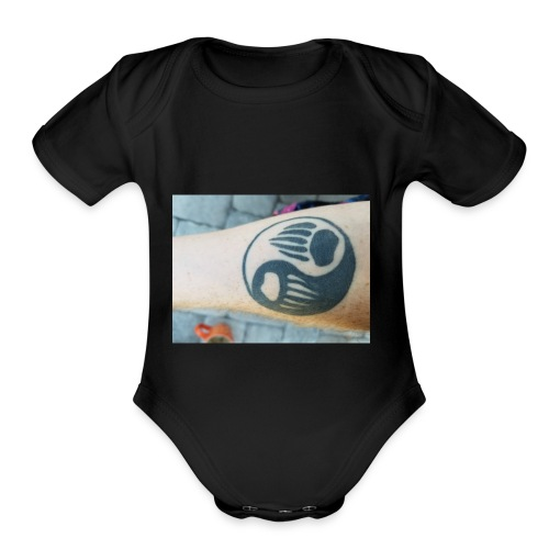 Bare arm - Organic Short Sleeve Baby Bodysuit