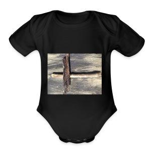 Beach - Short Sleeve Baby Bodysuit