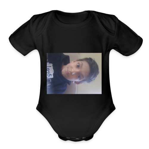 because I want to have my own stuff for my school. - Organic Short Sleeve Baby Bodysuit