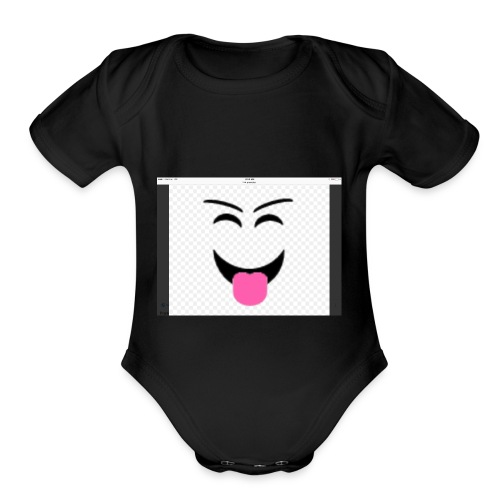 IMG 0231 - Organic Short Sleeve Baby Bodysuit