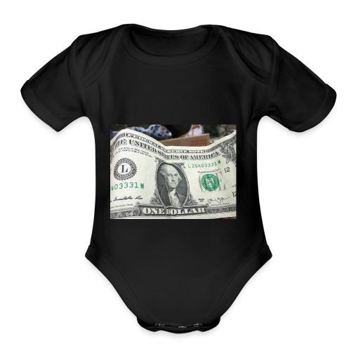Kian - Organic Short Sleeve Baby Bodysuit