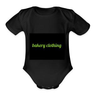 bakery clothing - Short Sleeve Baby Bodysuit