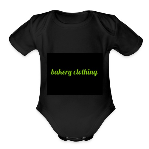 bakery clothing - Organic Short Sleeve Baby Bodysuit