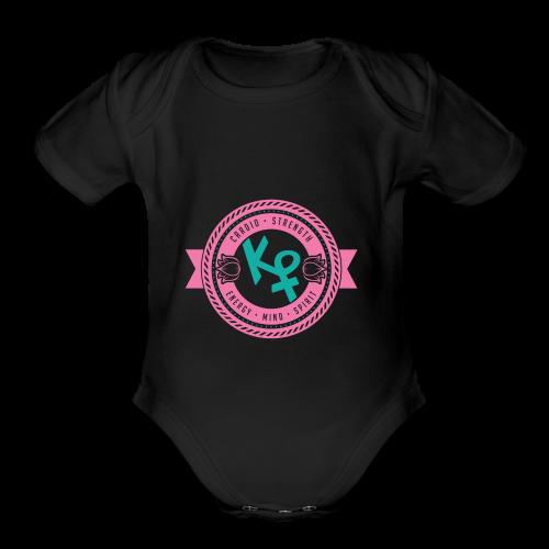 Universal Love - Organic Short Sleeve Baby Bodysuit