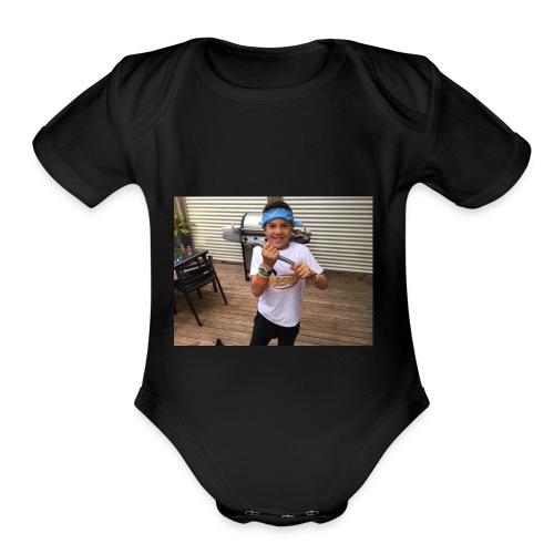 IMG 4560 - Organic Short Sleeve Baby Bodysuit