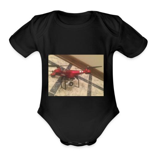 x52hd - Organic Short Sleeve Baby Bodysuit