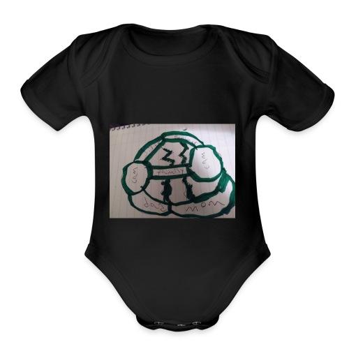 15172828979571369700860 - Organic Short Sleeve Baby Bodysuit