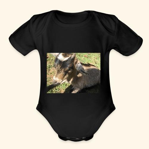 Dope goat - Organic Short Sleeve Baby Bodysuit