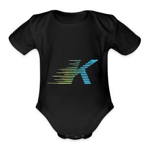 Speedy K - Short Sleeve Baby Bodysuit