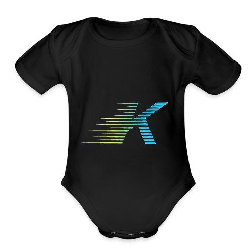 Speedy K - Organic Short Sleeve Baby Bodysuit