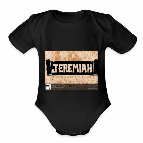 Jt's - Organic Short Sleeve Baby Bodysuit
