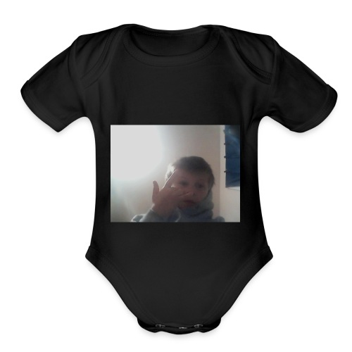Tttttttttttttttttttttttttttttttttttttttttttttttttt - Organic Short Sleeve Baby Bodysuit