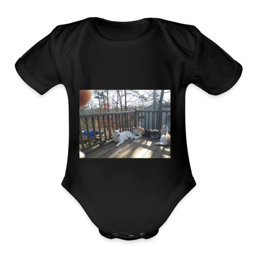 20180216 105557 Burst01 - Organic Short Sleeve Baby Bodysuit