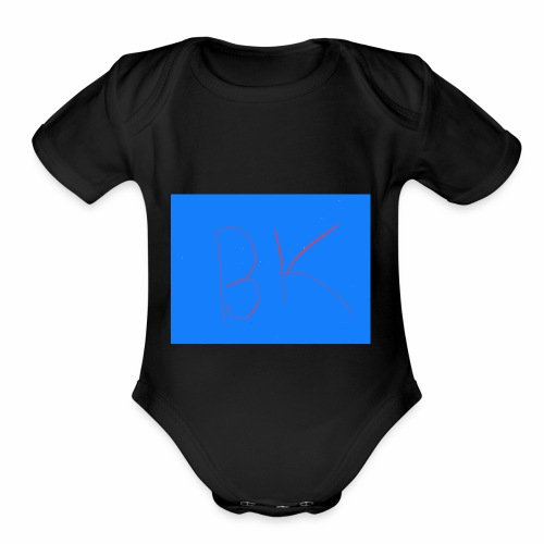 Bk march - Organic Short Sleeve Baby Bodysuit