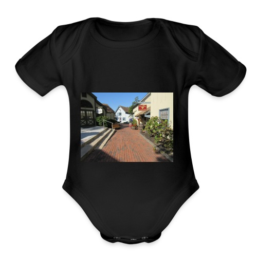Historic Village - Organic Short Sleeve Baby Bodysuit