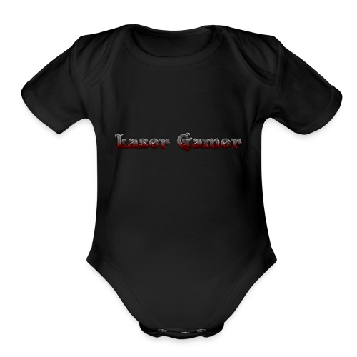 Laser Gamer - Organic Short Sleeve Baby Bodysuit