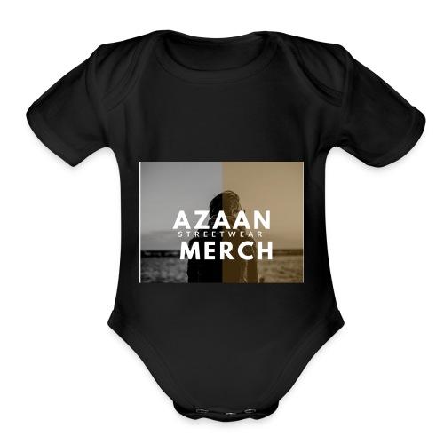 79E87DF1 DE56 4584 95F1 F20C47205018 - Organic Short Sleeve Baby Bodysuit