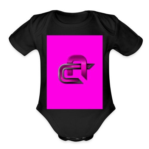 Game is life men t-shirt - Organic Short Sleeve Baby Bodysuit