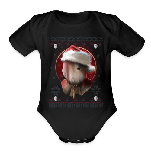 SantaClaus - Organic Short Sleeve Baby Bodysuit
