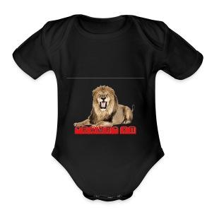 RAWR XD - Short Sleeve Baby Bodysuit