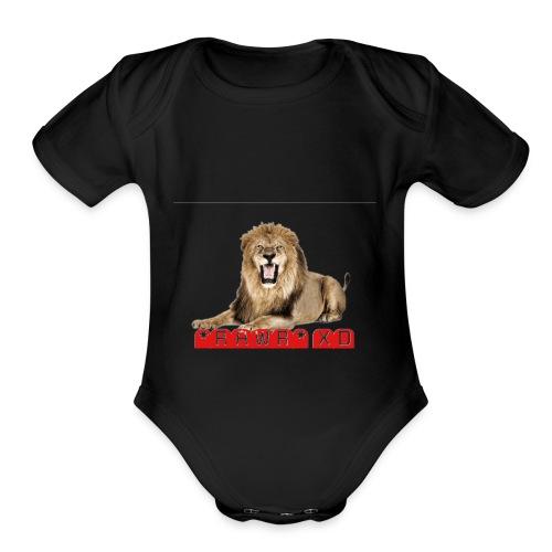RAWR XD - Organic Short Sleeve Baby Bodysuit