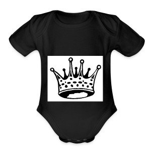 kings - Short Sleeve Baby Bodysuit
