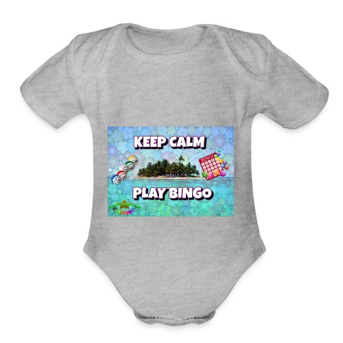 SELL1 - Organic Short Sleeve Baby Bodysuit