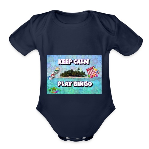SELL1 - Organic Short Sleeve Baby Bodysuit