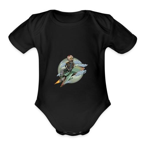 d9 - Organic Short Sleeve Baby Bodysuit