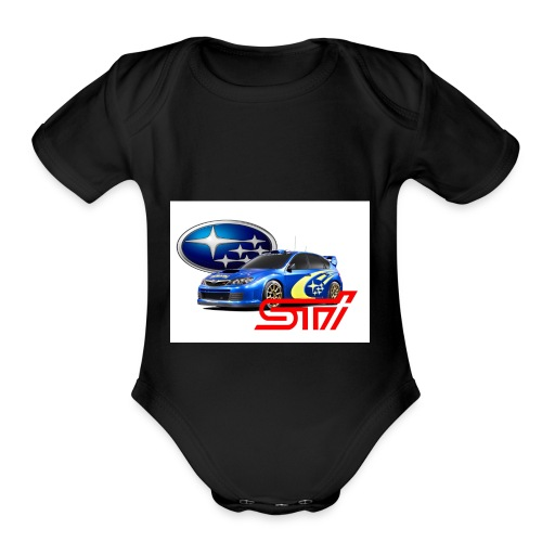 T-shirt Subary - Organic Short Sleeve Baby Bodysuit