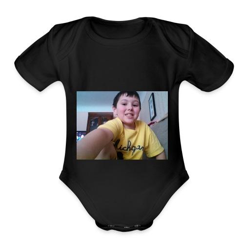 1517766722824 221385149 - Organic Short Sleeve Baby Bodysuit
