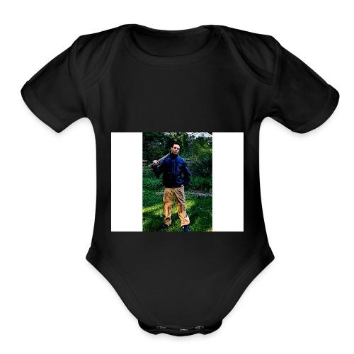 Claude Cheech - Organic Short Sleeve Baby Bodysuit