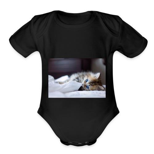 0A8A450D D831 4310 A43D 910DBEAE081A - Organic Short Sleeve Baby Bodysuit