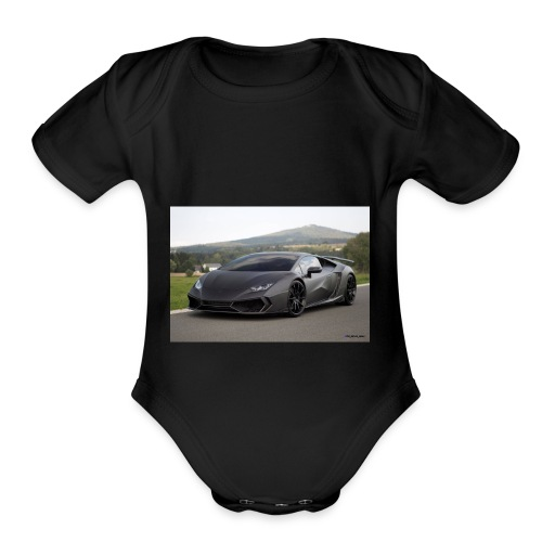 killer gaming - Organic Short Sleeve Baby Bodysuit