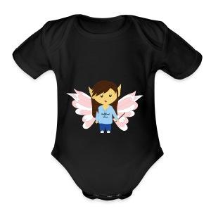 Cute HalfbloodPixie - Short Sleeve Baby Bodysuit